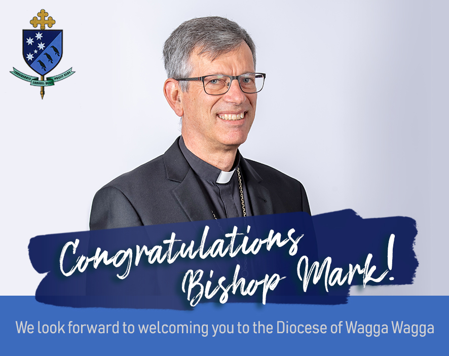 Catholic Education Diocese of Wagga Wagga welcomes Bishop Mark Edwards OMI